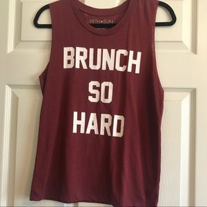 Brunch So Hard Tank